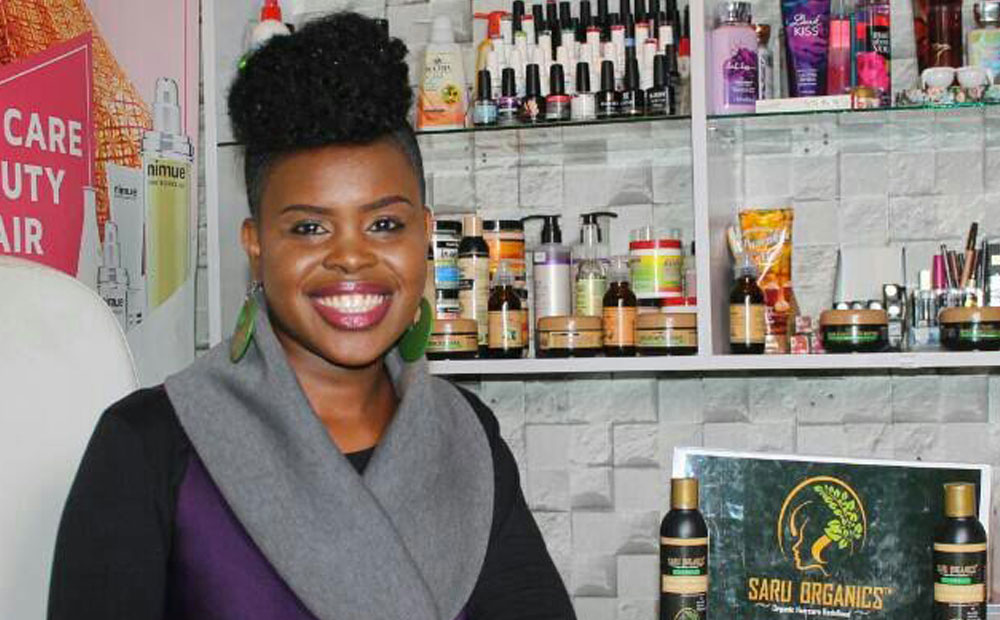 SARU ORGANICS; GIVING WOMEN THE CONFIDENCE TO FLAUNT THEIR NATURAL HAIR